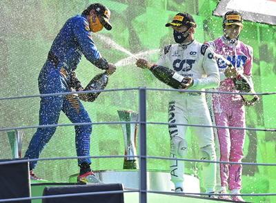 Triunfa Pierre Gasly en el Gran Premio de Italia