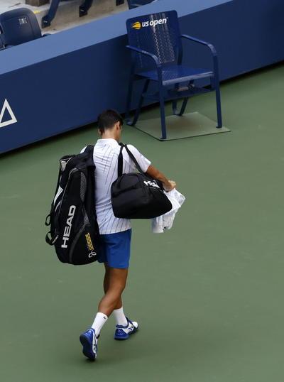 El partido que dejó a Novak Djokovic descalificado del US Open