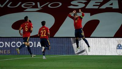 Selección de España golea a Suecia en la Liga de Naciones de Europa