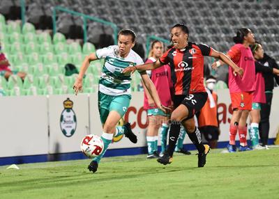 Atlas golea 3-0 a las Guerreras del Santos Laguna