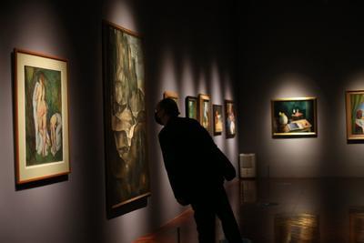 La confluencia con Rivera tiene que ver con el sincretismo que es esencial en Modigliani.