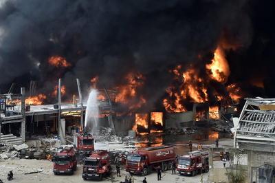 El secretario general de la Cruz Roja libanesa, George Kettaneh, aseguró a la cadena libanesa Al Jadeed que no hay heridos.