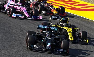 Gana Hamilton el Gran Premio de la Toscana; 'Checo' Pérez termina en quinto lugar