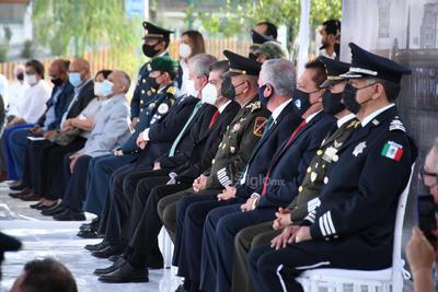 Participaron autoridades estatales y locales.
