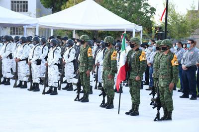 Se llevó a cabo un pase de lista de los llamados Héroes de Chapultepec.