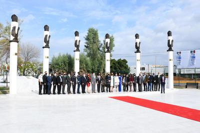 Al evento, acudió el alcalde de la ciudad, Jorge Zermeño Infante; el gobernador de Coahuila, Miguel Ángel Riquelme Solís; mandos militares, titulares de corporaciones policiacas y representantes de la iniciativa privada, entre otros.