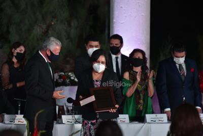 Zermeño encabeza la ceremonia del Grito de Independencia en Torreón