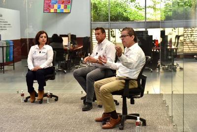 Diálogo entre candidatos a diputado del Distrito Xl en Coahuila