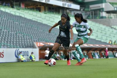 Guerreras del Santos Laguna empatan 1-1 frente a Esmeraldas del León