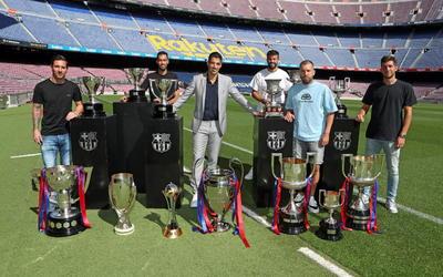 Así fue la emotiva despedida de Luis Suárez del F.C. Barcelona