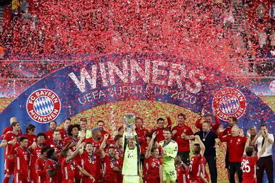 Bayern Múnich se convierte en campeón de la Supercopa de Europa