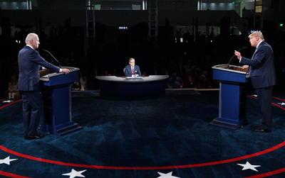 Joe Biden y Donald Trump sostienen primer debate por Presidencia de EUA