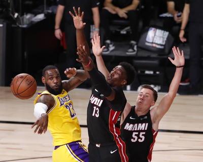 El Heat quedó golpeado y maltratado en más de un sentido.