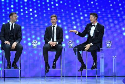 Bayern conquista 5 galardones individuales de la UCL 2020