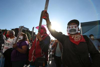 Marcha del 2 de octubre deja saldo de seis lesionados en CDMX