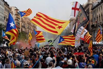 Hubo protestas en España.