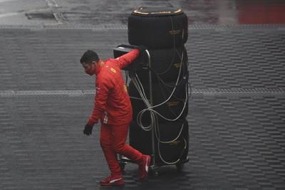 F1 suspende entrenamientos en circuito de Nürburgring por mal tiempo