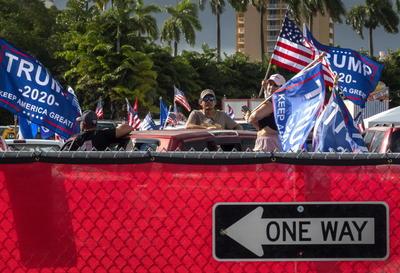 Para Iriondo, en las elecciones de 2020 están en juego la libertad, la democracia y los valores que han hecho esta nación grande, algo con lo que concordó Luis Infante, del Presidio Político Histórico Cubano-Casa del Preso.