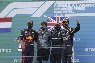Hamilton gana el GP de Eifel; iguala en triunfos en F1 a Schumacher