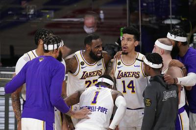 Vencen Lakers 106-93 a Heat de Miami en sexto partido de Finales de NBA