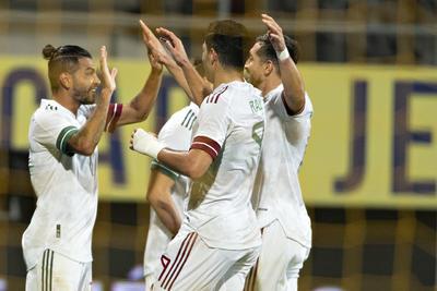 México y Argelia empatan 2-2 en amistoso