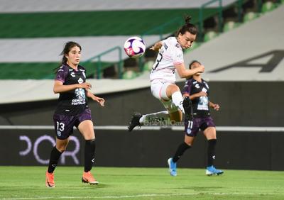 Caen 1-0 las Guerreras del Santos ante Pachuca