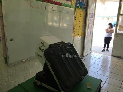 La urna electrónica implementada por el INE.