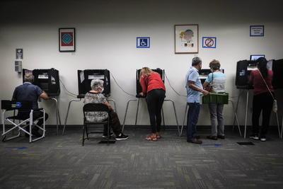 Comienza la votación anticipada en la codiciada Florida