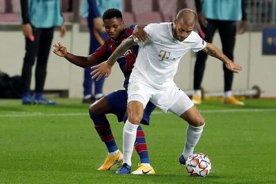 Barcelona debuta en Champions con golea 5-1 al Ferencvaros