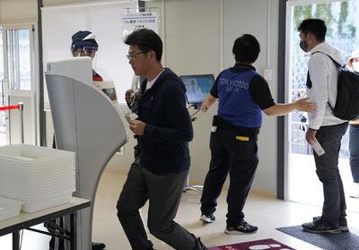Tokio mostró el miércoles algunos de los posibles remedios, exhibiendo diversos métodos de monitoreo en el palacio de convenciones que albergará el centro de prensa de los Juegos.
