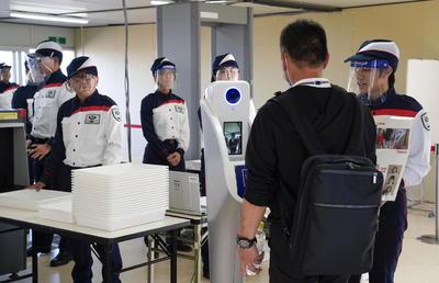 """""""Nuestro objetivo es exponer todo lo que estamos haciendo para el higiene y seguridad de los Juegos Olímpicos"""", dijo Tsuyoshi Iwashita, el director de seguridad de los Juegos de Tokio."""