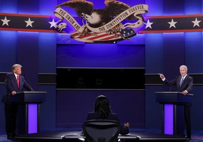 El último debate previo a las elecciones presidenciales de EUA entre Trump y Biden
