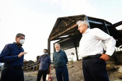 Encabeza AMLO inicio de trabajos de rescate de restos de mineros de Pasta de Conchos