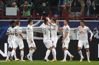 Los rusos merecieron, al menos, el empate por su gran despliegue en la segunda parte, aunque les faltó puntería, todo lo contrario que al Bayern.