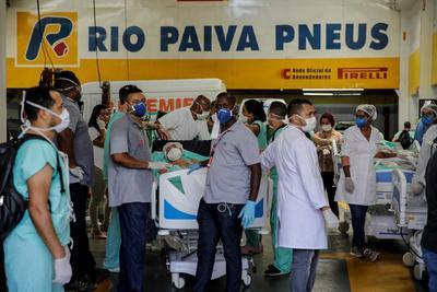 Doscientos pacientes son evacuados por incendio en hospital de Brasil
