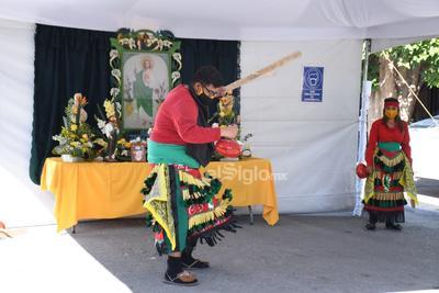 Mantienen tradición de reliquia a San Judas Tadeo durante pandemia en Torreón