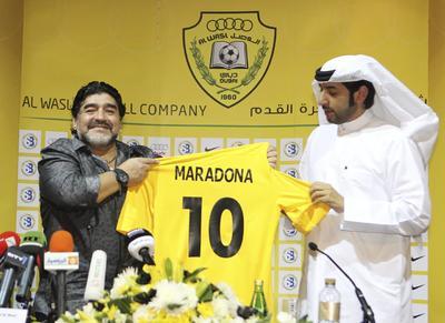 'Con mi enfermedad yo le di ventajas al futbol', declaró Maradona en una entrevista televisiva en septiembre de 2014. '¿Sabés qué jugador hubiese sido si no hubiese tomado droga? ¿Sabés que jugador hubiese sido? Un jugador de la p... madre'.