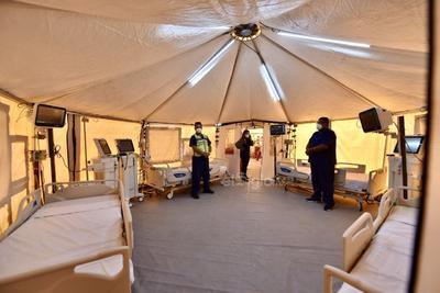 Hospital móvil para atención COVID en Torreón arranca operaciones este fin de semana
