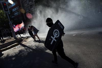 Vuelven las protestas en Chile tras aprobar histórico plebiscito