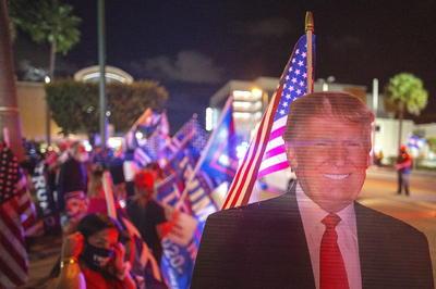 Imágenes de la histórica jornada electoral en Estados Unidos