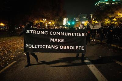 Estados Unidos registra protestas tras elección presidencial