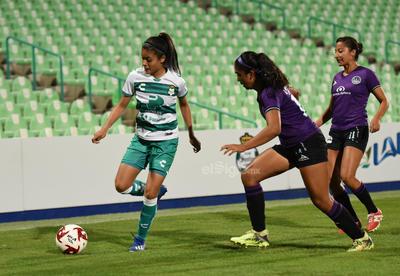 Empata Santos Femenil 1-1 en el Estadio Corona ante Mazatlán