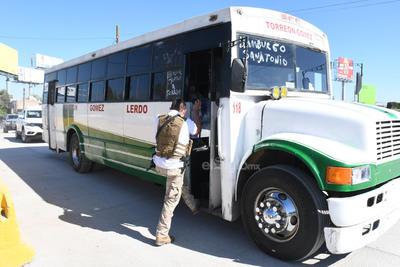 Realizan operativo en límites de Coahuila y Durango por COVID-19