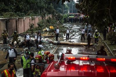Se estrella avioneta con ayuda humanitaria en Guatemala