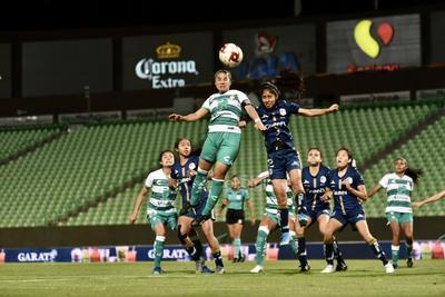 Ganan Guerreras del Santos Laguna 2-1 al Atlético de San Luis en el Corona