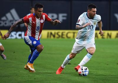 Argentina divide puntos con Paraguay en la eliminatorias de Conmebol