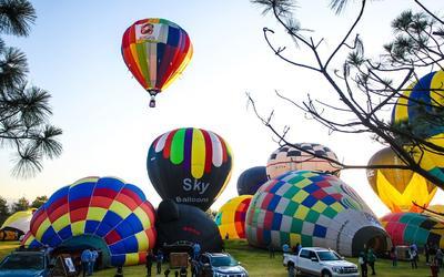 Festival Internacional del Globo se lleva a cabo sin público por primera vez
