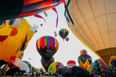 Celebran Festival Internacional del Globo en León a puerta cerrada