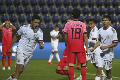 México vence a Corea del Sur en duelo amistoso
