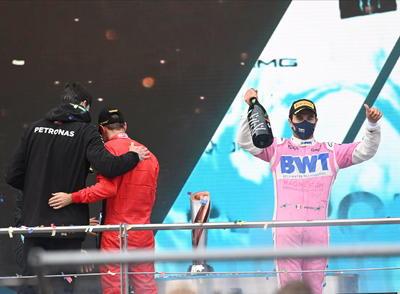Hamilton triunfa en Gran Premio de Turquía; 'Checo' Pérez queda en segundo